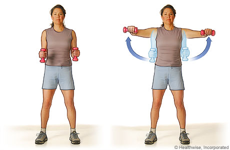 Bent Arm Lateral Raise | Body By Robes