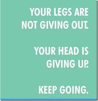 legs are not giving out