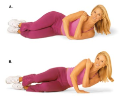 tricep one-arm pushup